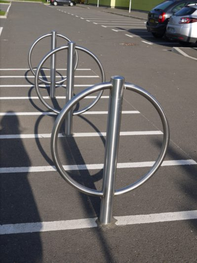 Support vélo en inox